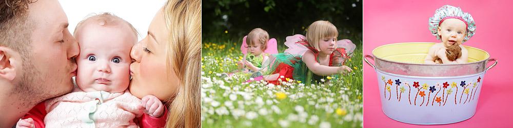 Montage of portrait images